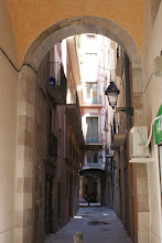 Photo: Alleyway in Barcelona, Spain.