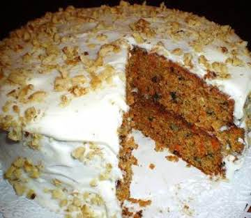 CARROT CAKE W/BABY FOOD (SALLYE)