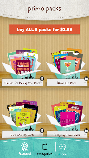 justWink Greeting Cards 2.7.3 screenshots 2