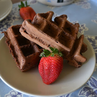 Vegan Mexican Chocolate Waffles
