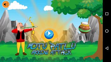 screenshot of Motu Patlu Arrow Attack