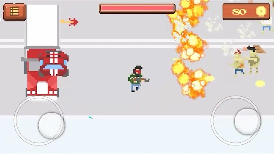 Pixel Zombie Shooting Game- screenshot thumbnail