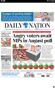 Daily Nation Epaper- screenshot thumbnail