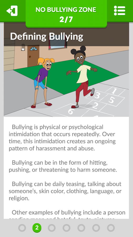 No Bullying Zone- screenshot