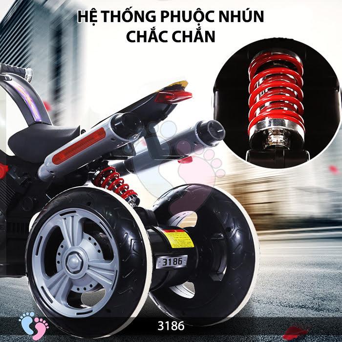 Xe mô tô điện trẻ em 3186 12