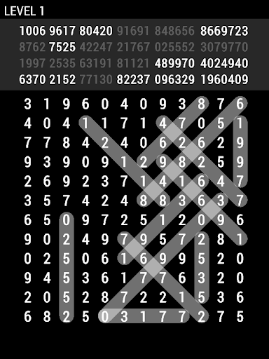 Number Search 1st android2mod screenshots 9