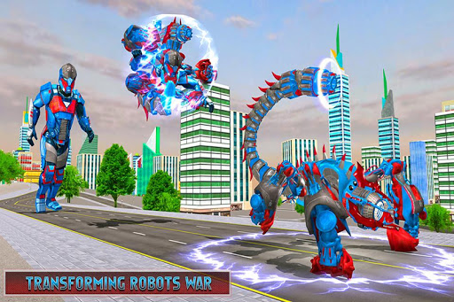 Scorpion Robot Transforming u2013 Robot shooting games 1.0 screenshots 2