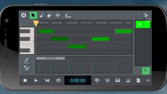 n-Track Studio DAW Screenshot