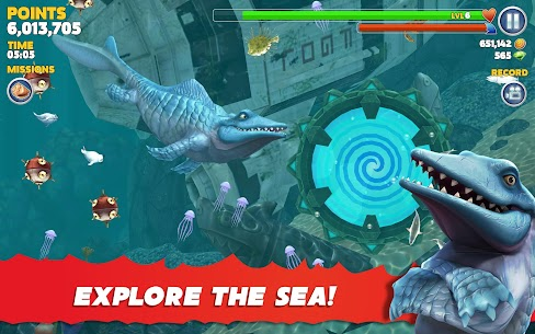 Hungry Shark Evolution Mod Apk 8.2.0 (Unlimited Money Coins + Dimond) 10