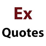 Ex Quotes Icon