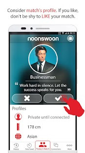 Noonswoon® | Dating - Match, Chat, Meet- screenshot thumbnail