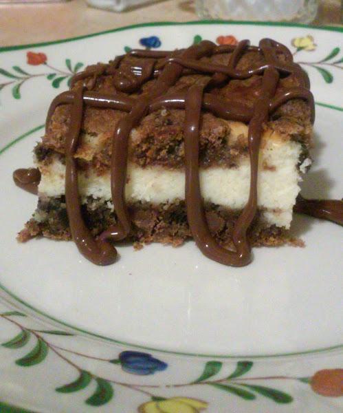 Oreo Cookies Cheesecake Blondies Recipe