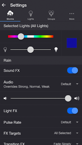 Screenshot for Thunderstorm for Hue in Hong Kong Play Store