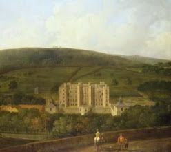 Photo: Elizabethan Chatsworth by Richard Wilson (1713 – 82), after a lost original.