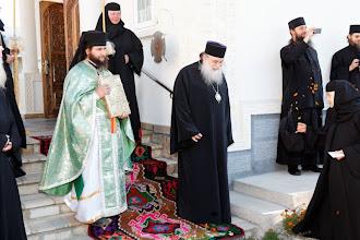 Photo: В очакване на архиереите и поклонниците от Гърция.