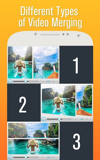 Video Collage Android App Screenshot
