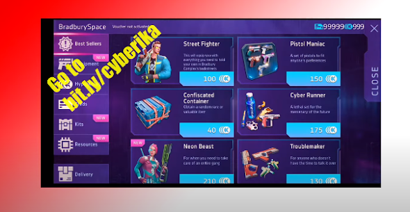 Cyberika Hack HyperKoins Creds Cheat Android IOS Apk Mod 6