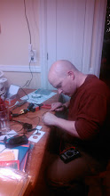 Photo: Grandma took the kid for the night, so I got out the soldering iron just like ol times!