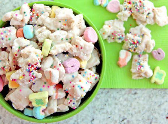 Lucky Rainbow Chex Mix Recipe