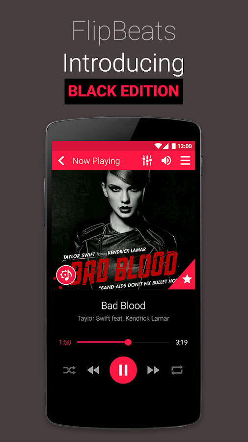 FlipBeats - Best Music Player - screenshot