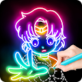 Draw Glow Comics APK