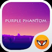 Purple Phantom -Launcher Theme