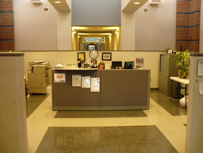 Photo: Reception area at the UNK - Rite Care Speech, Language and Hearing Clinic
