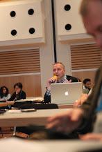Photo: Arturas Jonkus, commenting on Privacy vs Publicity Debate, 2012