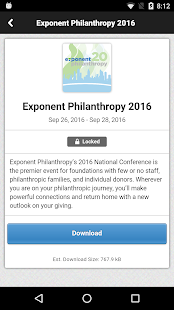 Exponent Philanthropy- screenshot thumbnail
