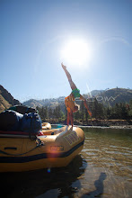 Photo: Rafting on the Main Salmon River in central Idaho
