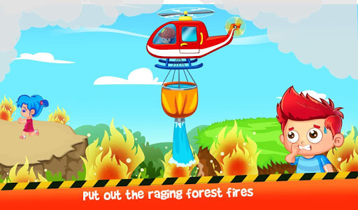 Firefighters Town Fire Rescue Adventures 1.0.4 screenshots 2
