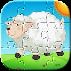 Fun Farm Puzzle Games for Kids icon