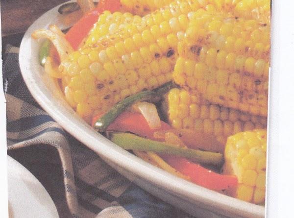 Grace's  Grillin Sweet Corn-n-peppers Recipe