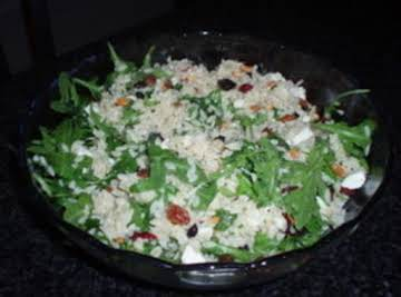 Orzo Spinach Salad