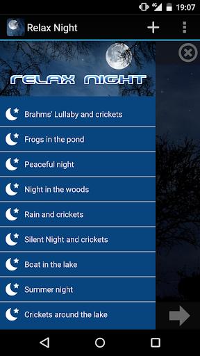 玩生活App|放鬆之夜 - 大自然的聲音免費|APP試玩