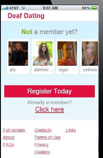 deaf single dating online