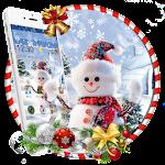 Christmas snowman theme Icon