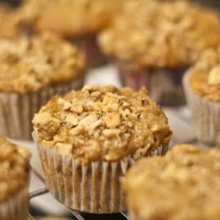 Vegan Banana Nut Muffins.