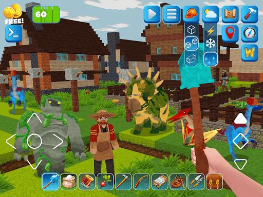 RaptorCraft 3D: Survival Craft u25ba Dangerous Worlds 5.0.4 screenshots 16