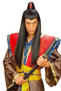 Peruk, Samurai