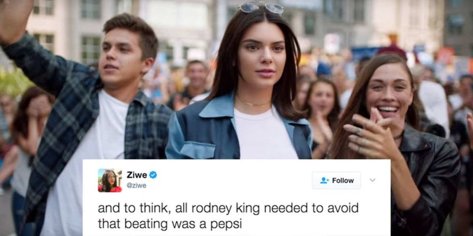 Pepsi fiasco Kendall Jenner