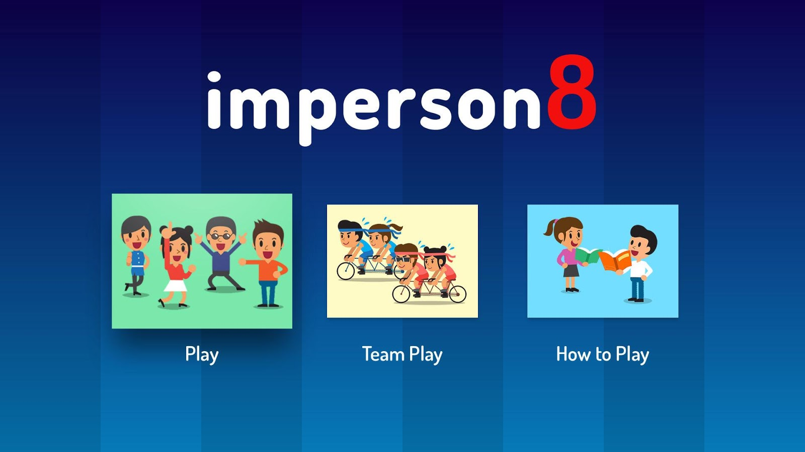 imperson8 - Family Party Game- screenshot