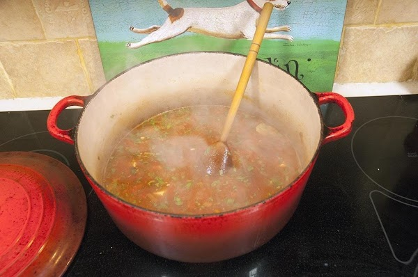 Allow the soup to simmer for 20 to 40 minutes, uncovered, stirring occasionally.