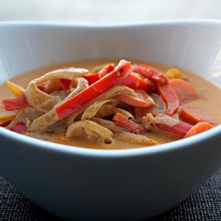 Vegetarian Thai Red Curry.