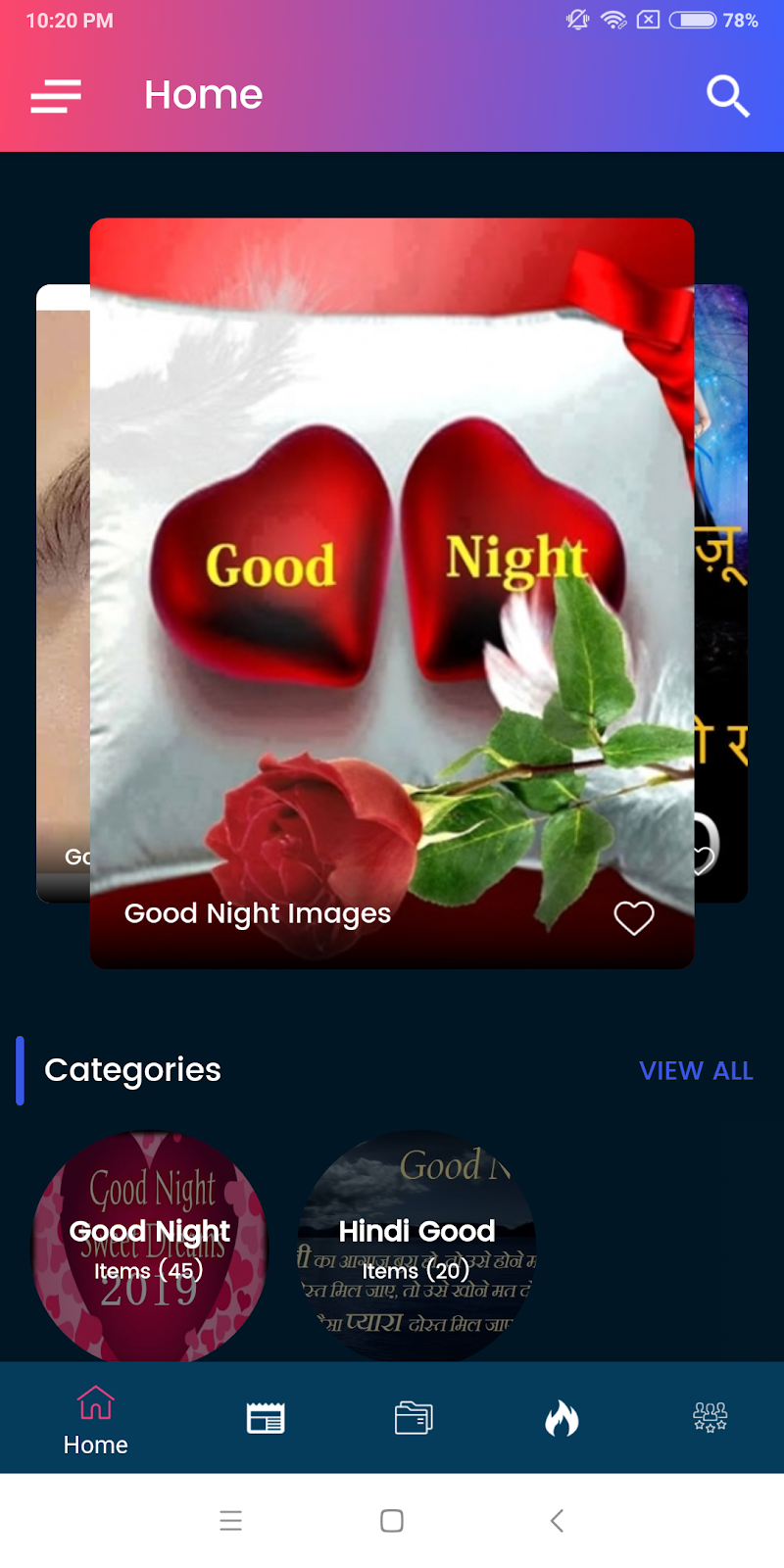 Скриншот Good Night Images Hd 2019