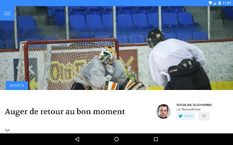 Le Nouvelliste screenshot 13