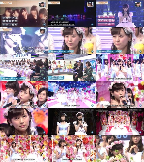 (TV-Music)(1080i) NMB48 – Music Station 160722