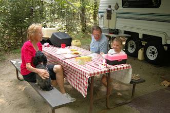 Photo: A family picnic at Brighton State Park