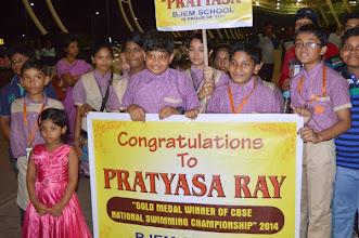Photo: Bjem Student Congratulate Pratyasa