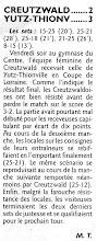Photo: 08-04-11 N3F Trophée du CG57 1/4 de finale courte victoire sur Creutzwald R1
